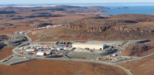 TMAC Resources' Hope Bay gold mine, in Nunavut. Credit: TMAC Resources