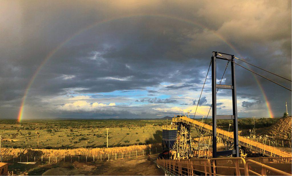 Lipari's Brauna diamond mine in Brazil, which uses TOMRA sorting technology. Credit: Tomra