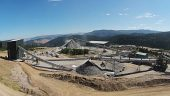 Crusher circuit at Copper Mountain mine Credit: Copper Mountain Mining