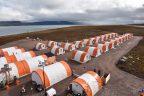 Sabina's Port facility camp