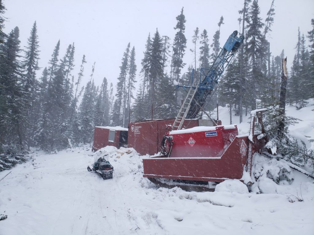 Kenorland Minerals' Frotet project in Quebec.