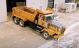 Electric haul truck