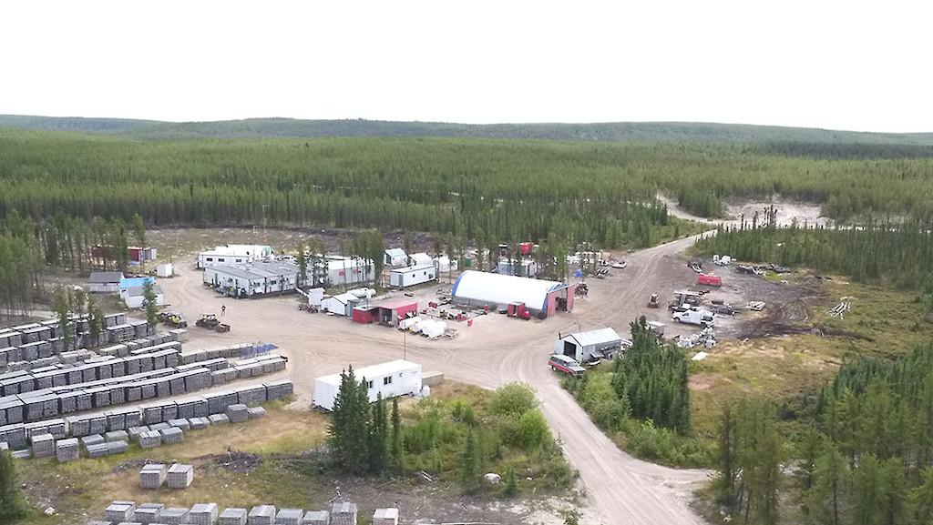 Wheeler River camp