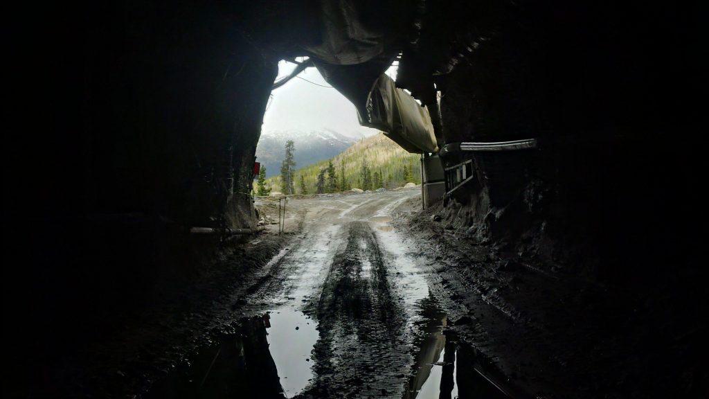 Mine portal at Silvertip in B.C.