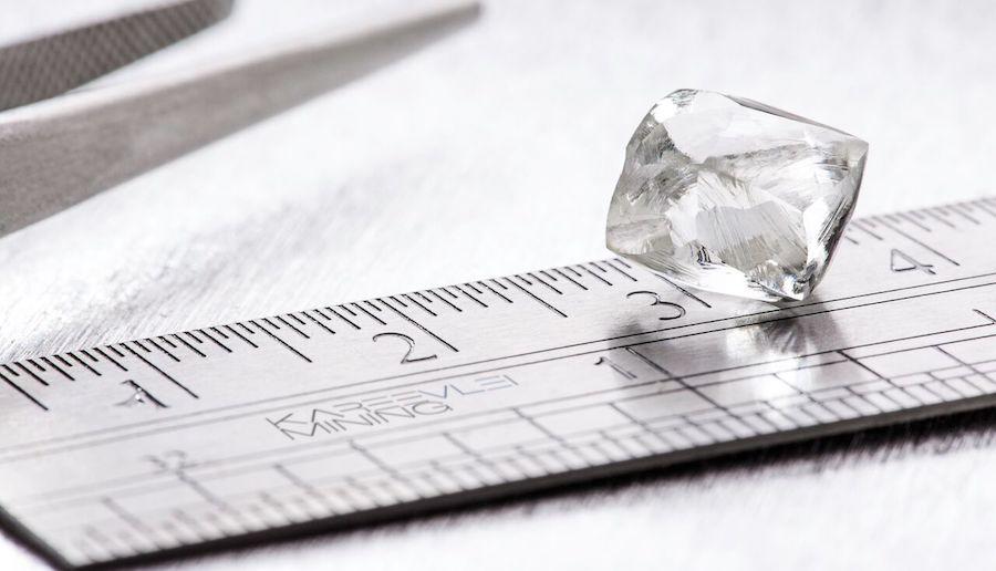 Bluerock shares jump on biggest diamond found at Kareevlei