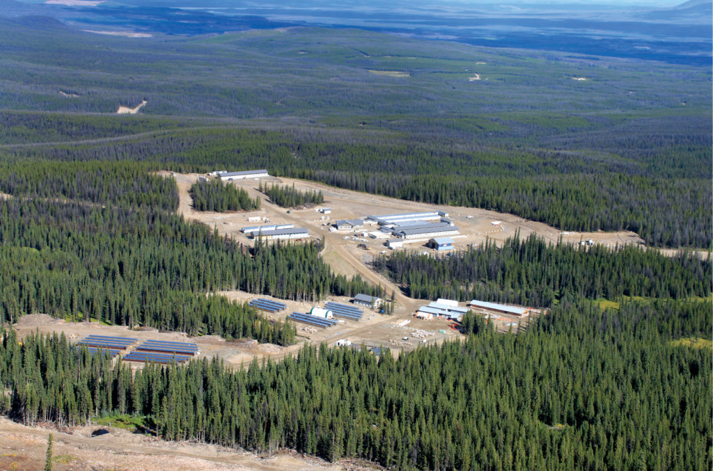 aerial photo of Blackwater project in B.C.