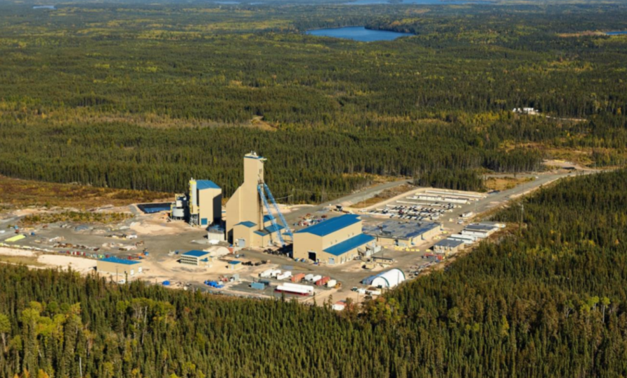 Lalor mine site in Manitoba
